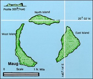 Maug (three islands)
